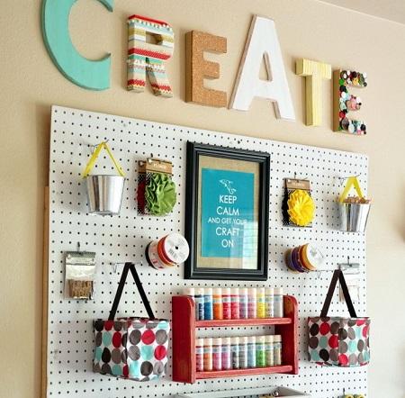 I consigli di per creare un angolo hobby in casa for Creare piani di casa gratuiti