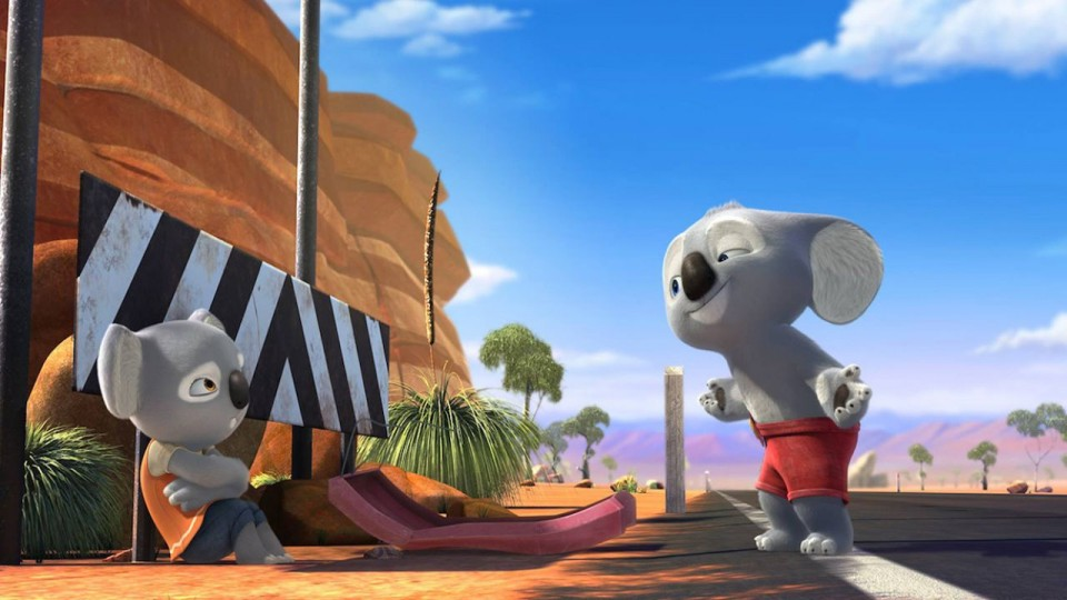 Il cartone animato quot billy koala the adventures of