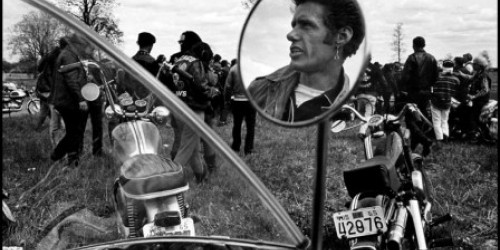 Barcelona, Danny Lyon with the series 'The Bikeriders' and 'Uptown'