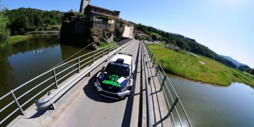 "MM Motorsport nella ""top five"" del rally Il Ciocco e Valle del Serchio"