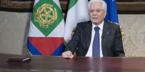 "Mattarella: ""Con la pandemia l'Ue ha preso decisioni coraggiose e innovative"""