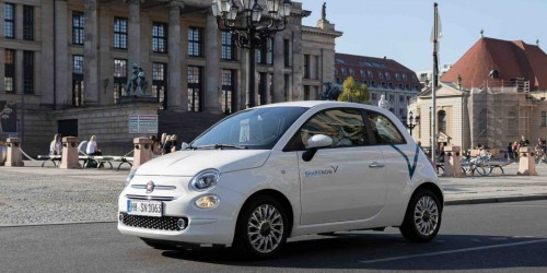 Share Now introduce le FIAT 500 nella flotta tedesca